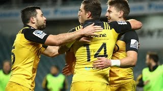 Waratahs vs Hurricanes Rd.16 2016 | Super Rugby Video Highlights