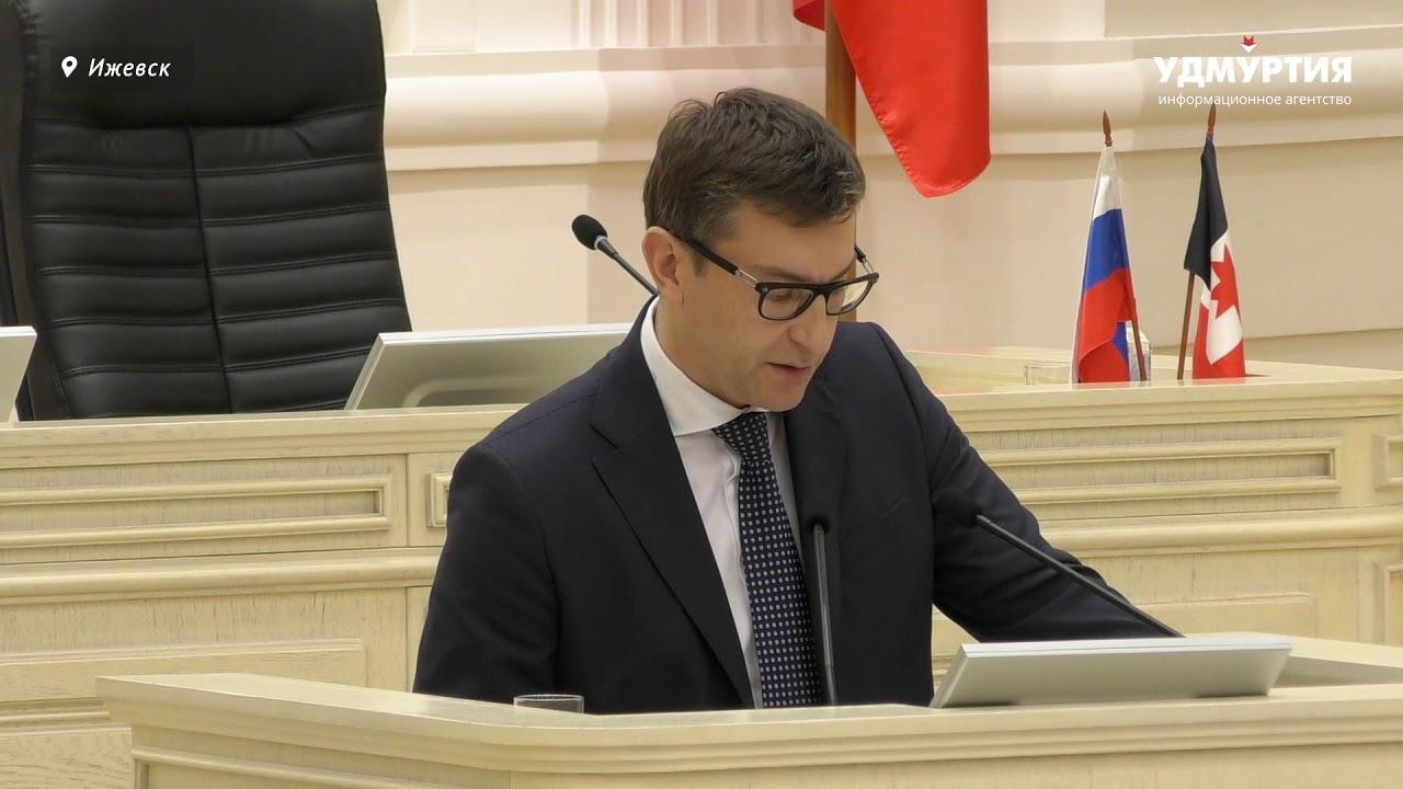Ярослав Семенов о приоритетах, стоящих перед правительством Удмуртии