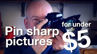 Video How to get TACK SHARP images for LESS than $5! MP3, 3GP, MP4, WEBM, AVI, FLV Juli 2018