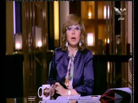 لميس الحديدي تبكي بسبب مشهدين من يوم الشهيد