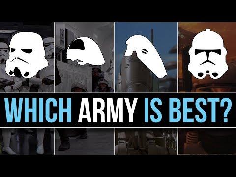 Which Star Wars Faction has the BEST ARMY (Ground Forces)? | Star Wars Lore