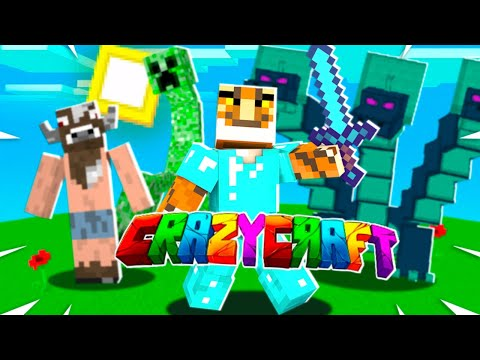 *New* How to Download CRAZY CRAFT 4.0 MOD PACK on Minecraft XboxOne! Tutorial (New Method) 2020
