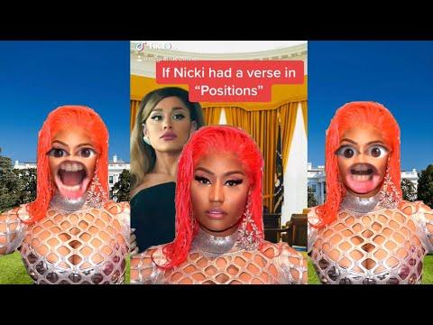 If Nicki Minaj had a verse on 'Positions' by Ariana Grande