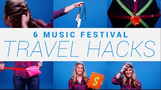 Video 6 Music Festival Travel Hacks You Need to Know MP3, 3GP, MP4, WEBM, AVI, FLV Juni 2018