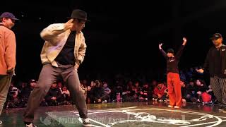 Funky Bee (Ringo Winbee & Yu-to) vs BOOZER (Nao & ペッツ) – JUSTE DEBOUT TOKYO 2020 POPPING BEST8