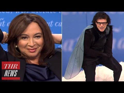 SNL Recap: Bill Burr's Controversial Jokes, Fly Pence Jokes & Maya Transforms Into Kamala   THR News