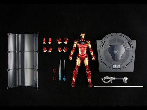 千值練 – RE:EDIT「鋼鐵人#01 Bleeding Edge Armor」血邊盔甲 開箱