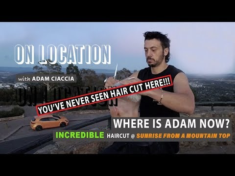 Short haircuts - The Hottest Short Hair/Pixie Cut of 2019- LIVE while the Sun Rises in Australia - By Adam Ciaccia