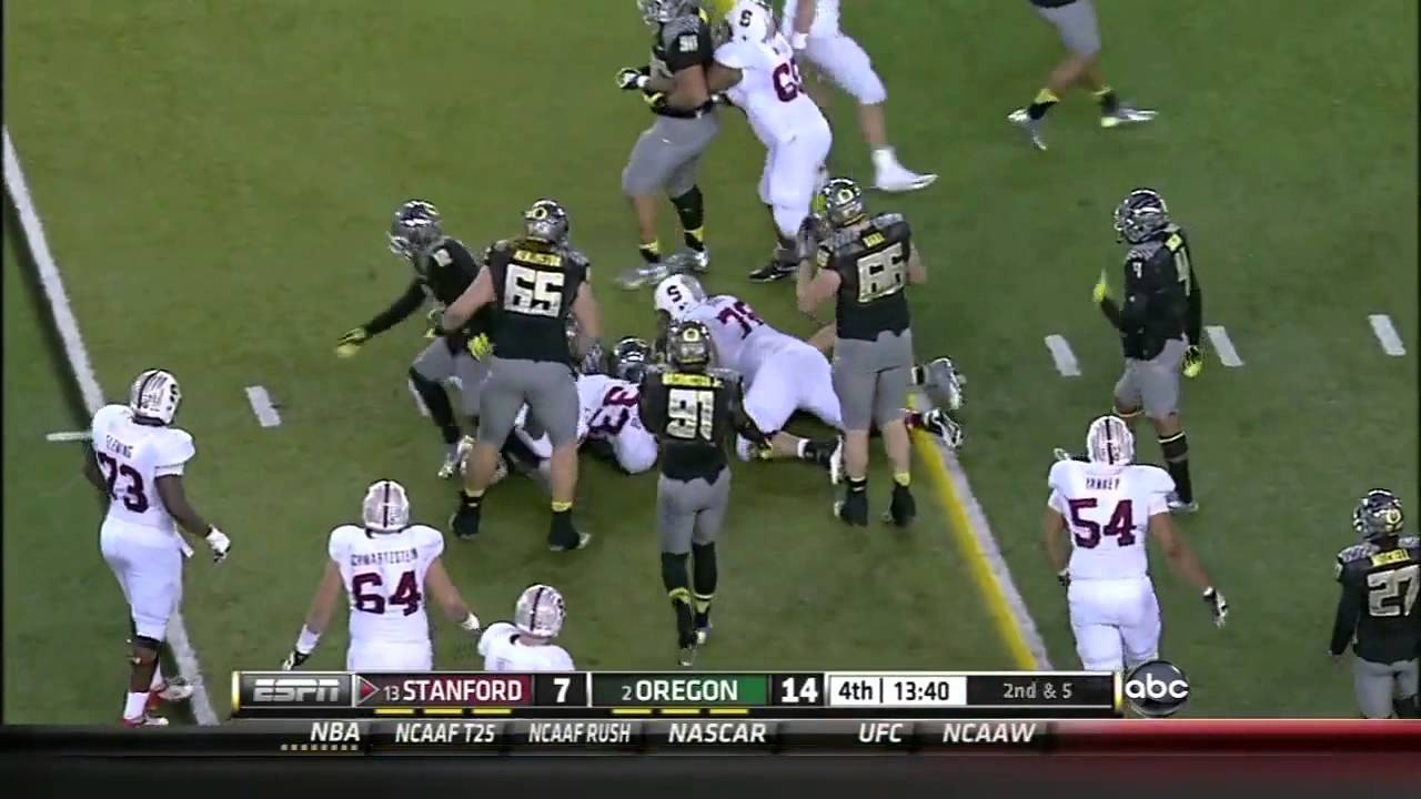 Zach Ertz vs Oregon (2012)