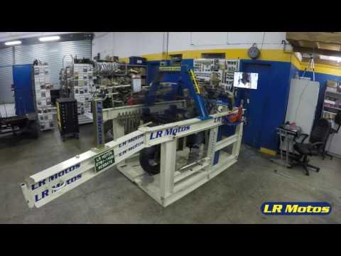 LR Motos  - Alinhamento de Chassi a Laser da Triumph Tiger 800 Preta  - 9890