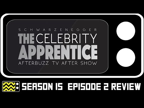 The Celebrity Apprentice Season 15 Episode 2 Review & After Show | AfterBuzz TV