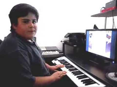 Online Piano Lesson #123 For He's An African Fellow played by Michael