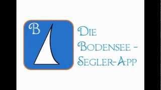 Bodensee-Segler-App YouTube video