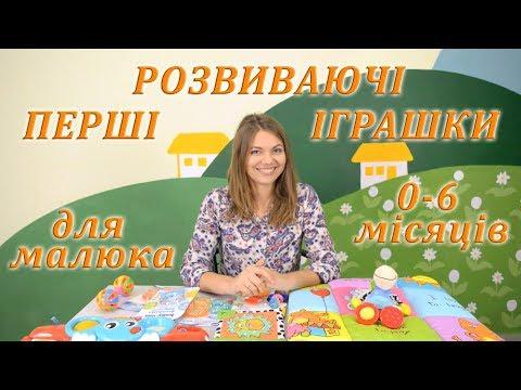 Перші розвиваючі іграшки для малюка 0 1 2 3 4 5 6 місяців