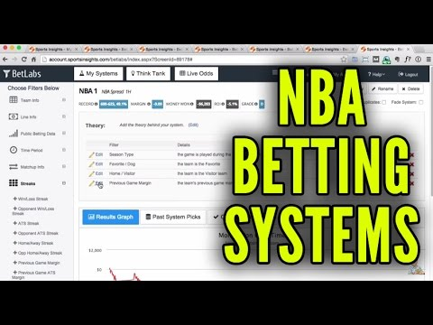 NBA Betting Systems – Win Money Betting on Basketball