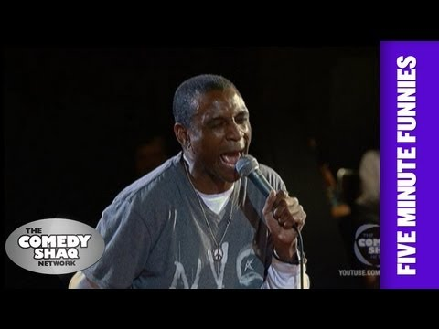 Tommy Davidson⎢Know your ABC's or get arrested⎢Shaq's Five Minute Funnies⎢Comedy Shaq