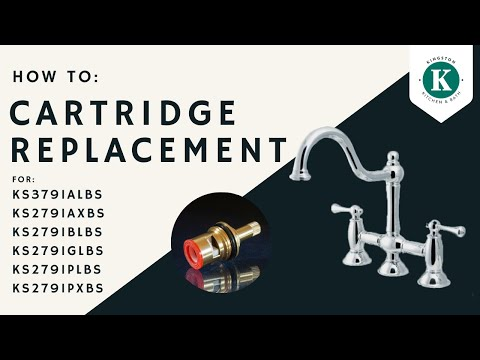 Changing the Cartridges on the KS3791 Series Kitchen Faucet by Kingston Brass