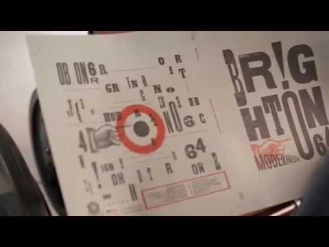 """Brighton 64 """"Modernista"""" Impresión de la portada en Letter Print"""