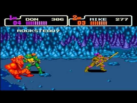 teenage mutant ninja turtles the hyperstone heist genesis