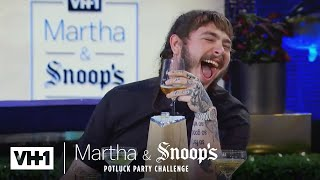 Video Martha Stewart Wonders Why Post Malone Came To Dinner | Martha & Snoop's Potluck Dinner Party MP3, 3GP, MP4, WEBM, AVI, FLV Mei 2019