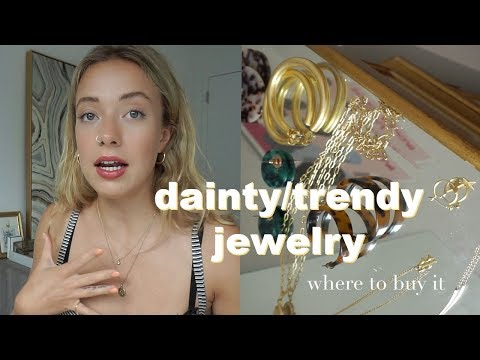 JEWELRY FAVORITES | Dainty and trendy pieces, Mejuri