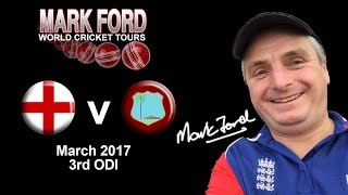 England v West Indies cricket 9th March 2017 3rd ODI
