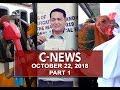 News (October 22, 2018) PART 1