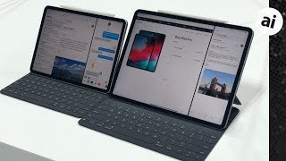 Hands on with the 2018 iPad Pros & Apple Pencil 2