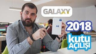Samsung Galaxy A8 2018 Kutusundan Çıkıyor - İlk izlenimler ve kutu içeriği!