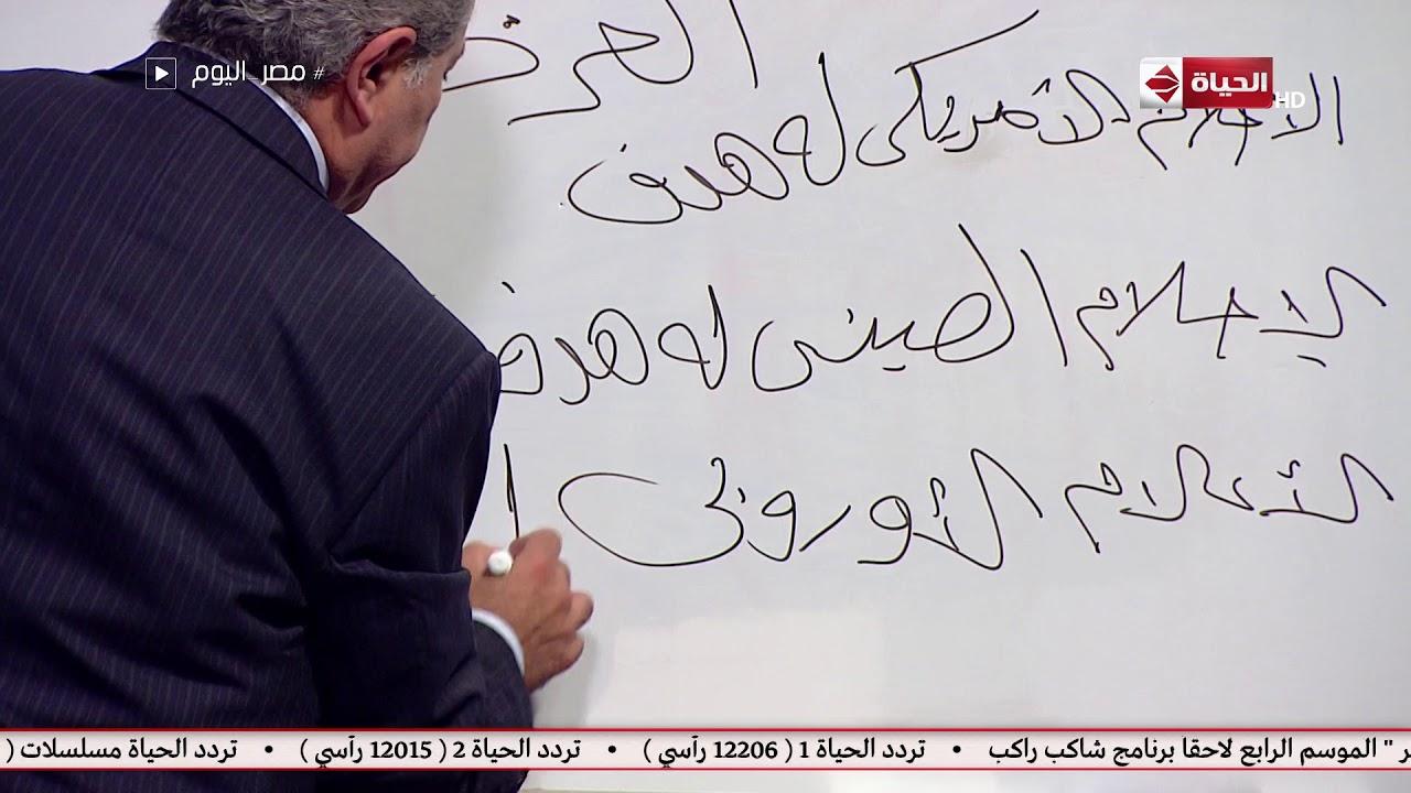 مصر اليوم - توفيق عكاشة يتحدث عن هدف الإعلام العربي و دوره في ترميم الجنس العربي