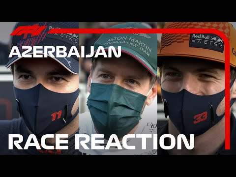 Reflecting On A Dramatic Finish! Drivers' Post-race Interviews | 2021 Azerbaijan Grand Prix