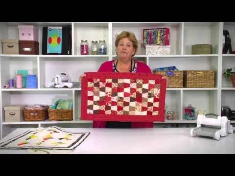 From the Sizzix Quilting Workshop: the Missouri Star Quilt Collection #2