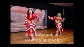 Zizi & Romina performing in Saint Petersburg, Florida