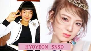 KOREAN KPOP IDOL BEFORE AND AFTER DEBUT - GIRLS GROUP IDOLS LI...