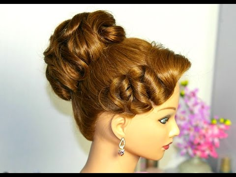 Hairstyles for long hair. Updo hairstyles. Wedding prom hairstyles.