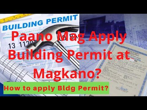 Pagkuha ng Building Permit magkano?