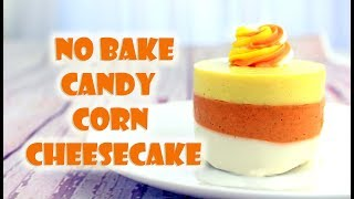 No Bake Candy Corn Cheesecake || Gretchen's Bakery by Gretchen's Bakery