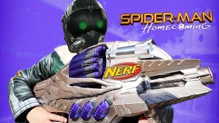 Video NERF Spider-Man Homecoming Movie Gear Test! VULTURE GUN! Toys Review by KIDCITY MP3, 3GP, MP4, WEBM, AVI, FLV Maret 2018