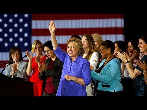 Διψήφιο προβάδισμα Κλίντον για την προεδρία