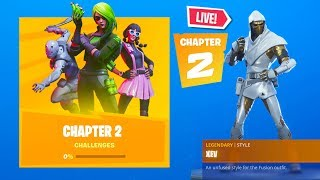 *NEW* FORTNITE CHAPTER 2 BATTLE PASS TIER 100! NEW *CHAPTER 2* MAP GAMEPLAY! (Fortnite Event)