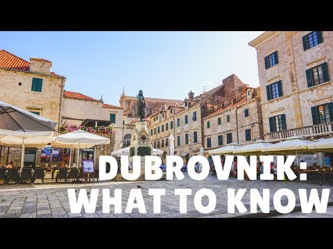 What to Know BEFORE Visiting Dubrovnik, Croatia