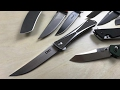 10 Gentleman's Knives: YOU TELL ME - Are they?  What Makes A Gentleman's Knife?