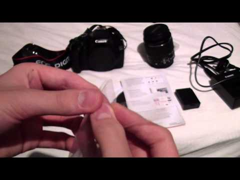 *Unboxing Of The Canon EOS 1100D And The Canon EOS Accessory Kit*