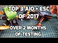 Best 3 AIO Flight Controllers with ESC's of 2017  // My Top Choice