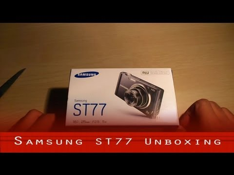 Samsung ST77 HD Camera Unboxing and Overview
