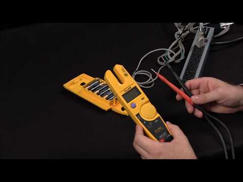 How to Measure Voltage And Current Using The Fluke T5