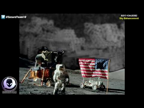 PROOF That Aliens Were On The Moon 12/28/16