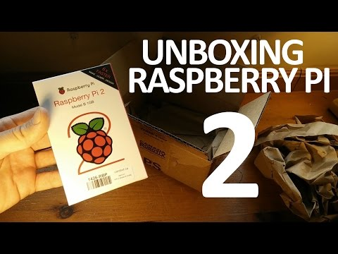 Quick Unboxing of the Raspberry Pi 2 1GB