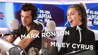 Miley Cyrus And Mark Ronson's Chat Death Drops, G-A-Y & 'NBLAH' 💔   FULL INTERVIEW