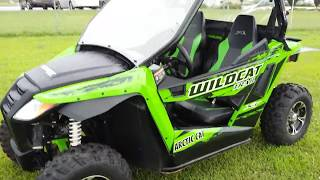 2. Arctic Cat wildcat trail Xt review!
